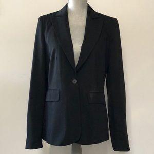 Jackets & Blazers - Jenni Button Black classic style blazer